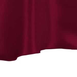 """Image 2 - 10 sztuk burgundii 90 """"okrągłe eleganckie satynowe obrusy dekoracja stołu na wesele bankiet darmowa wysyłka"""