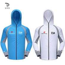 Summer Breathable Fishing Shirt Hooded Special Top Quality Sports Cycling Golf Men Sun Protection Jackets Fishing Shirts(China)