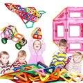 Mini 30 unids 52 unids 60 unids Juguetes Educativos Para Niños en 3D de Construcción Bloques de Construcción de Modelos de Kits de Montaje Magnético de Diseño juguetes