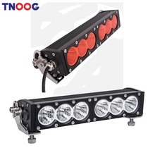 TNOOG 60W White Amber Yellow Led Light Bar 12Volt LED workLight 4×4 Offroad led work driving lights Car ATV Spot Flood Lamps