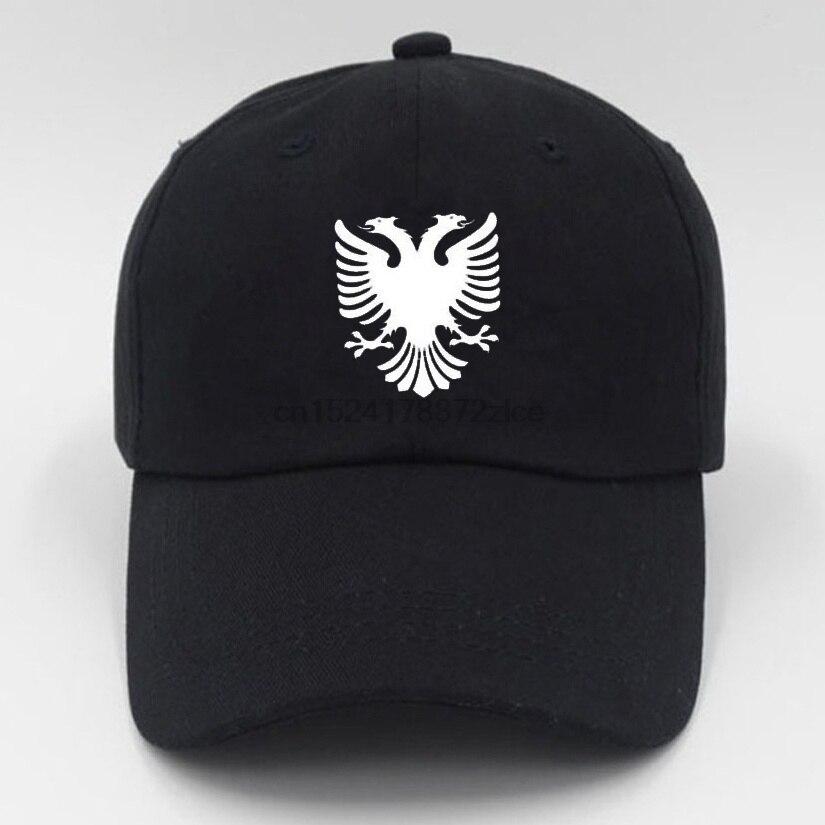 fbfb2833078 Albania Eagle Summer Baseball Cap Women s Men s Adjustable Cap Hip-Hop Caps  Solid Fashion Outdoor