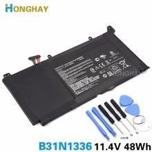 Honghay оригинальный B31N1336 Аккумулятор для ноутбука ASUS VivoBook C31-S551 S551 S551LB S551LA R553L R553LN R553LF K551LN V551L V551LA