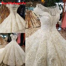 09423 Spring Summer Korean Lace Thin Wedding Dress