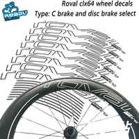 roval-clx64-road-bicycle-wheel-stickers-roval-clx64-wheel-decals-road-bike-carbon-knife-wheel-wheel-group-stickers-decals