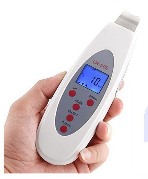 Portable Facial Skin cleaner Face care tool Anti-aging LCD Digital Dead Skin Removal Acne whitening face lift firming device