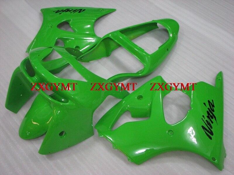 Fairings for for Kawasaki Zx6r 1998 - 1999 Body Kits for Kawasaki Zx6r 1999 Green Abs Fairing 636 Zx-6r 99Fairings for for Kawasaki Zx6r 1998 - 1999 Body Kits for Kawasaki Zx6r 1999 Green Abs Fairing 636 Zx-6r 99