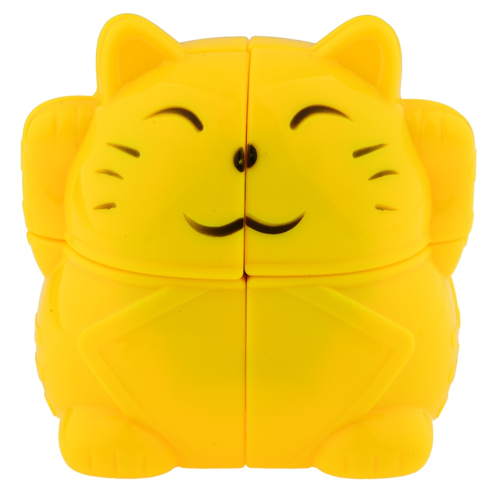 2019 Brand New YJ Zhaocai Cat Lucky Cat Speed Puzzle Magic Cube 2x2x2 Educational Toy Special Toys