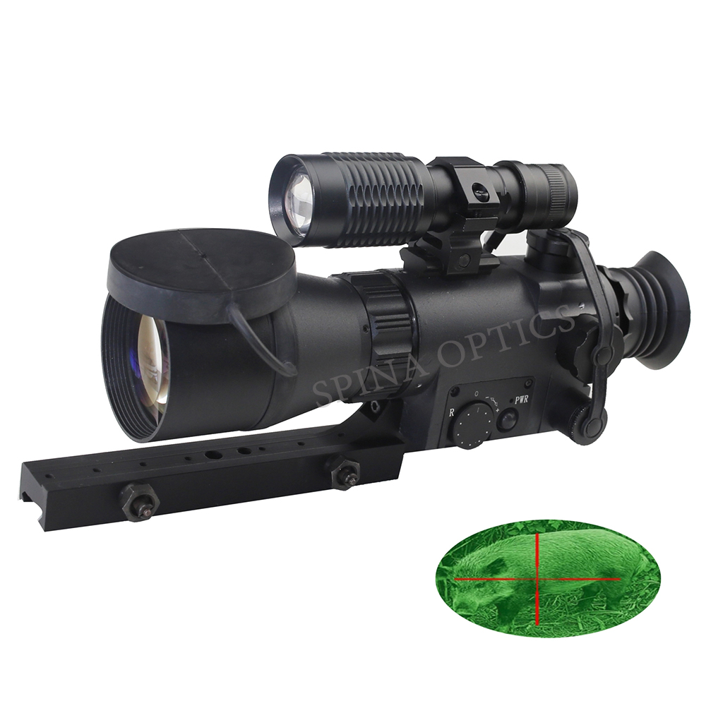 ATN Series 2.5X50 Monocular Night Vision Refilescope MK350 GEN 1 Military Sight Hunting Night Scope