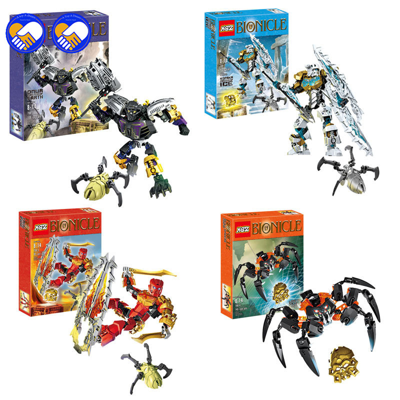 A toy A dream BionicleMask of Light XSZ 708-1 Childrens Onua Master Of Earth Bionicle Building Block Toys Compatible LegoinglyA toy A dream BionicleMask of Light XSZ 708-1 Childrens Onua Master Of Earth Bionicle Building Block Toys Compatible Legoingly
