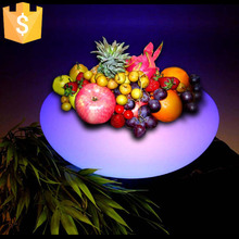 Free Shipping LED Light Flowerpot Colors Changeable Luminous flash flower pot tray indoor Outdoor illuminated Y Light plantpot free shipping waterproof led light up serving tray multi colors rechargeable luminous led trays light 24 keys remote controller