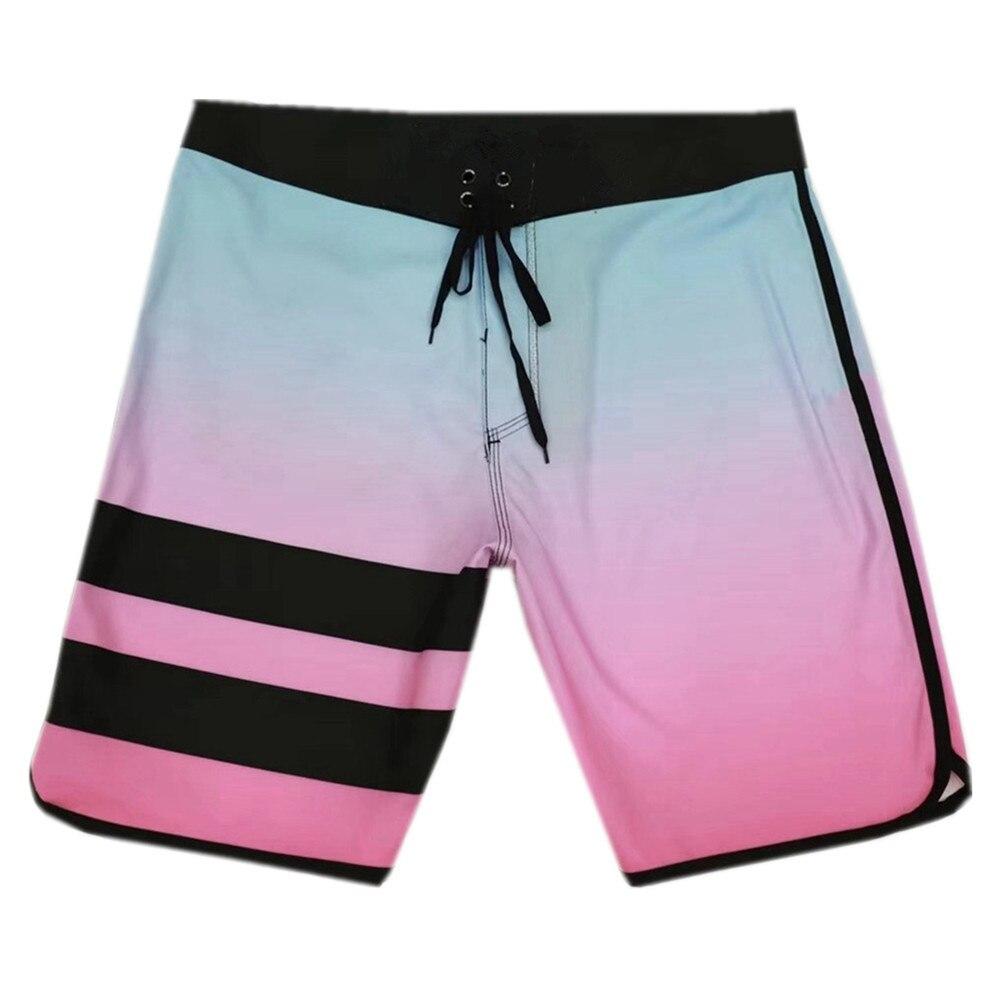 Casual Shorts Elastane Bermudas Spandex Quick-Dry Waterproof Men's 4way Stretch Board