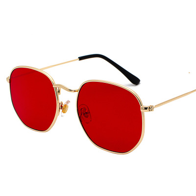 Gold clear red
