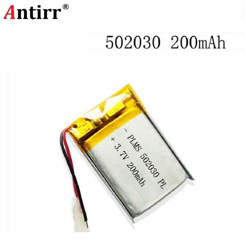 Digital Batterien Batterien Hell Polymer Lithium-ionen-akku 3,7 V 502030 200 Mah Können Angepasst Werden Großhandel Ce Fcc Rohs Msds Qualität Zertifizierung