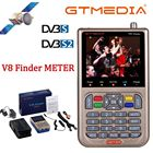 NEW GTmedia V8 Finder Meter Digital Satellite Finder HD DVB-S2/S2X H.265 High Definition 3.5