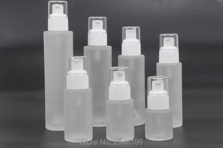 120ML 100ML 80ML 60ML 40ML 30ML 20ML Empty Glass Cosmetic Liquid Refillable Spray Bottle DIY Glass