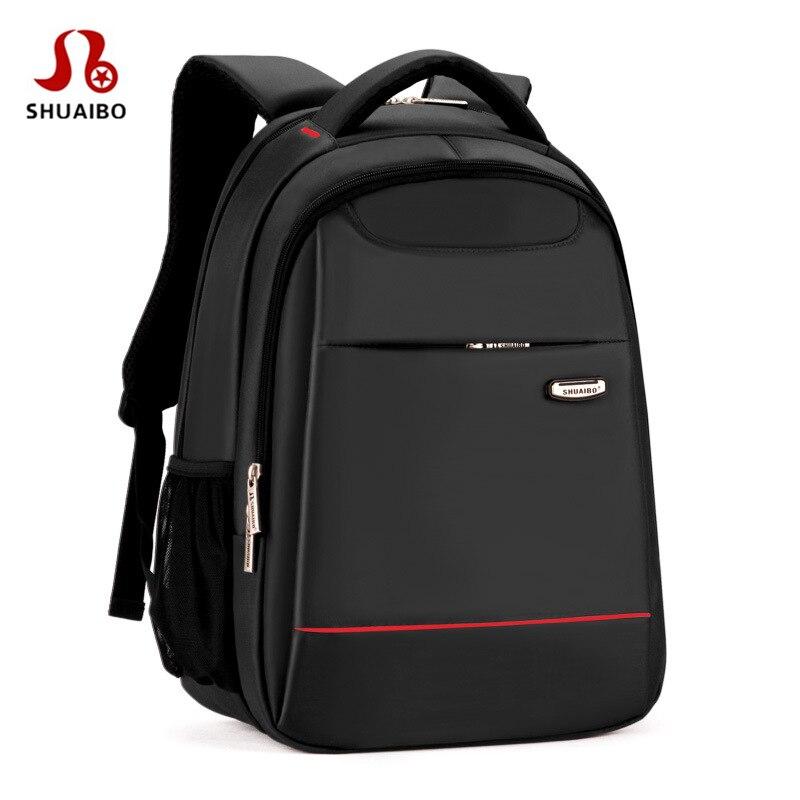 Luxury Business Laptop backpack bag 15.6 15 14 13.3 inch Travel men and women Shoulders Notebook Backpack bag waterproof airbag