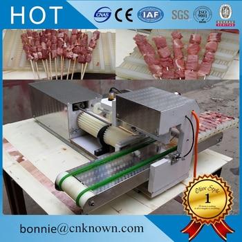 Ze stali nierdzewnej kebab mięso sznurka ekspres do kabab szpikulec do mięsa maszyna do produkcji darmowa wysyłka|Roboty kuchenne|AGD -