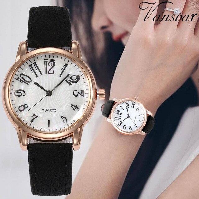 Vansvar Luxury Watch Women Dress Bracelet Watch Fashion Beautiful Fashion Simple