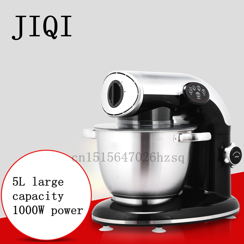JIQI electric Food Mixer household Stand mixers multifunctional kneading mixing whipping kitchen machine