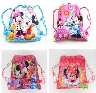 2015 школьные сумки детские мультики drawstring рюкзак и мешок Для детей сумка для школы mochila infantil-4
