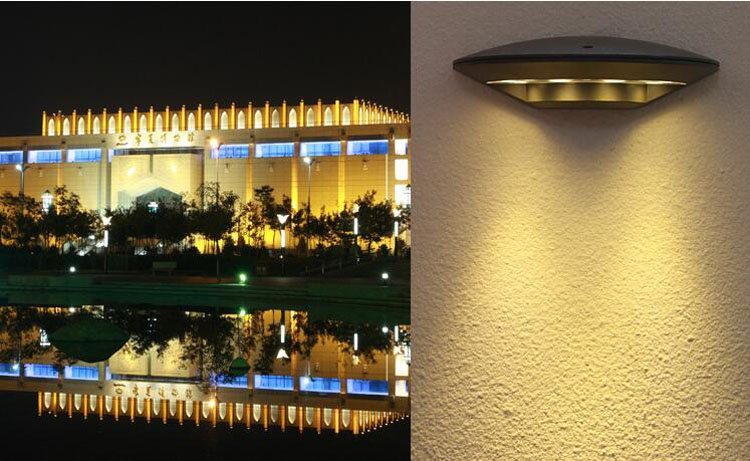 8pcs/lot 4*3w Outdoor Waterproof 12W Led Wall Lamps AC 110V 220V 230V 240V Stairs Gate Villa Hotel Terrace Lamp Garden Lights|garden wall light|wall lamp outdoor|led wall lamp outdoor - title=