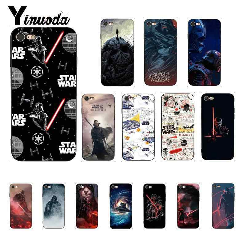 Filme Star Wars Yinuoda fan art DIY Phone Case Pintado para o iphone X XS MAX 6 6s 7 7 além de 8 8Plus 5 5S SE XR 11 11pro 11promax