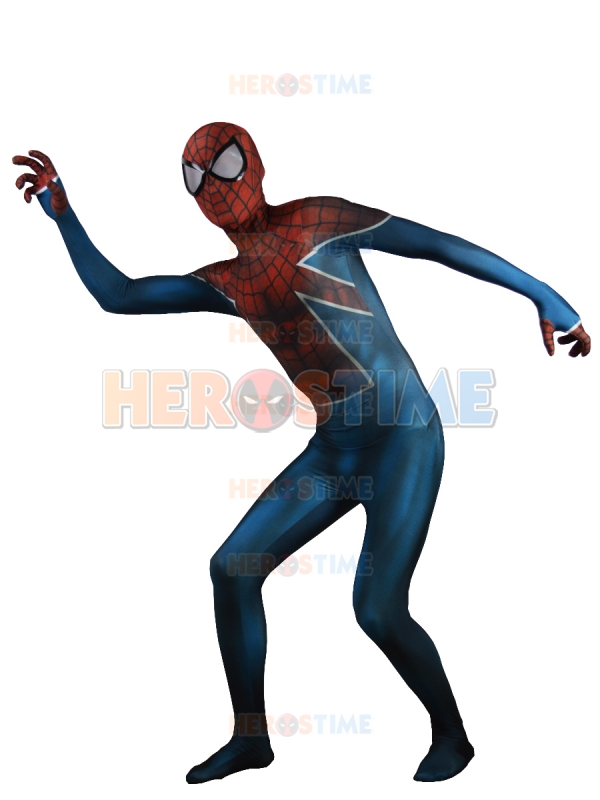Costume Spiderman araignée royaume-uni évolution Zentai Costume complet Lycra Spandex Halloween Costume de Cosplay Spiderman