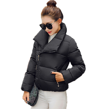 Stylish Woman Lightweight Quilted Puffer Jacket Women Short Wadded Coats Green White Red Wadded Parka Lady Winter Basic Ovecoats