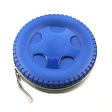Creative CD Package Tire Shaped Plastic Storage Case 40pcs Capacity Disk Card Bag Car CD DVD Package