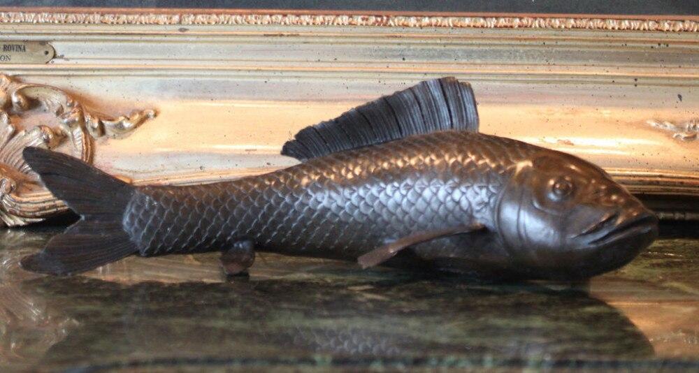 Stsatuette For Outdoor Ponds: Koi Fish Brocaded Carp Japanese Water Garden Backyard Pond