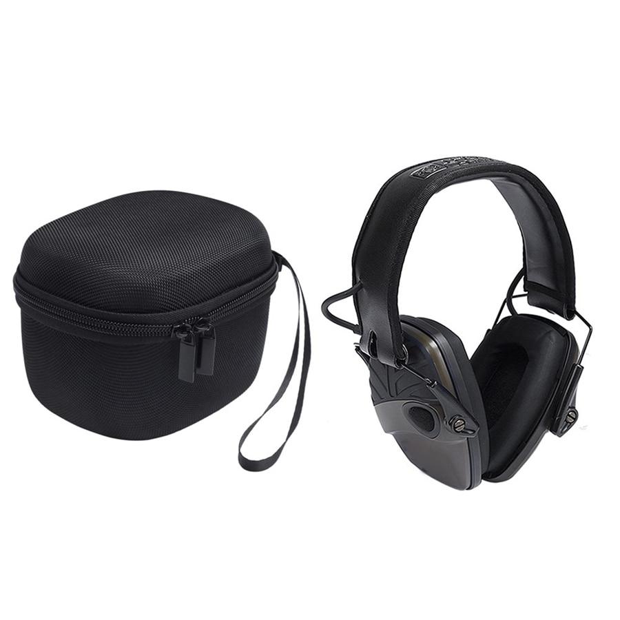 For Howard Leight Impact Hard Travel Storage Case Bag OD Electric Earmuff Sport