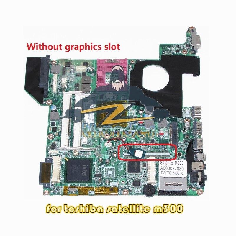A000027030 DA0TE1MB8F0 for toshiba satellite M300 M305 laptop motherboard GL960 DDR2 motherboard for toshiba m300 m800 a000027030 te1 da0te1mb8f0 965gm 100% tsted good