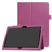 Pour Huawei Media Pad MediaPad T3 10 AGS WO9 AGS L09 9.6 pouces Honor Play Pad 2 étuis en cuir intelligent Texture tablette couverture