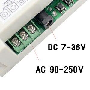 Image 2 - KTNNKG 4CH WIFI przekaźnik odbiorczy 110V AC 90 250V i 12V DC7 36V uniwersalny podstawowy wyłącznik zasilania bezprzewodowy pilot do inteligentnego domu