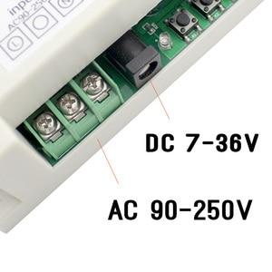 Image 2 - Ktnnkg 4CH wifi リレー受信機 110 v ac 90 250 v & 12 v DC7 36V ユニバーサル基本電源スイッチワイヤレスリモコンホーム