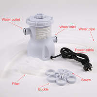 Hot Electric Swimming Pool Filter Pump for Pools Cleaning 220V DO2