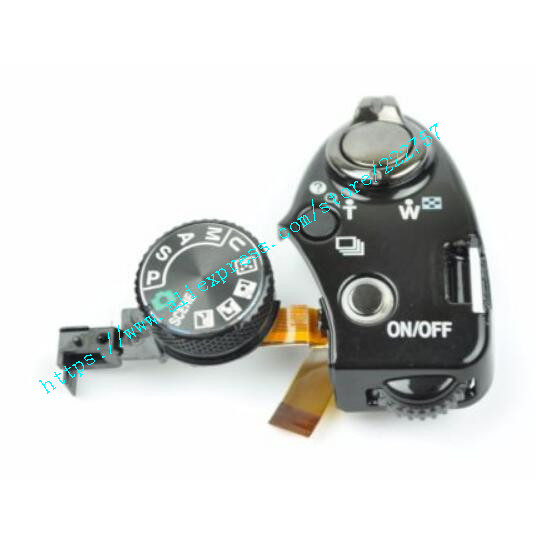 New For Nikon P500 Top Function Mode Dial Power Switch Shutter Button Group Camera Repair Parts