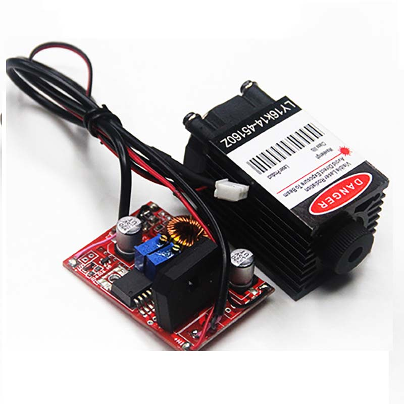 1 6W 450 Blue High Power Laser Module Engraving Cutting 3D Printing Laser Diodes Adjustable Focus