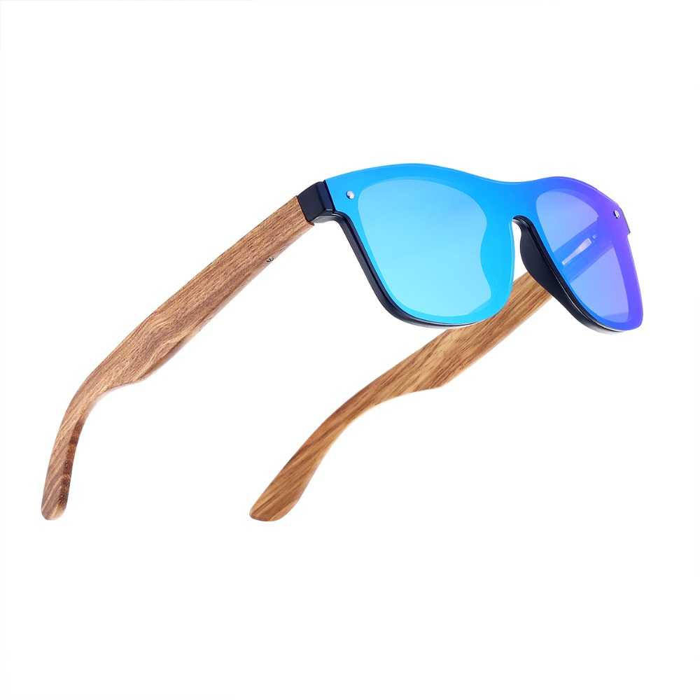 2018 Mode lunettes de Soleil En Bois