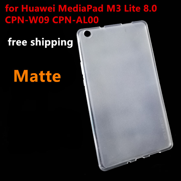 Ultra thin Soft TPU Back Case for Huawei MediaPad M3 Lite 8 8 0 CPN W09