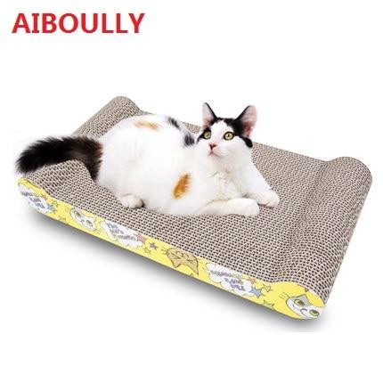 Us 954 Kat Scratcher Kat Speelgoed Grote Scratcher Met Catnip Handgemaakte Katten Kitten Krabben Post Interactieve Speelgoed Voor Pet Cat Training