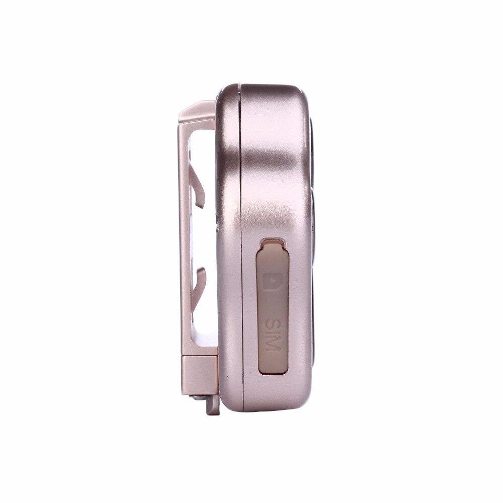 Étanche IP66 mini animal de compagnie GPS tracker localisateur RF-V40 WCDMA 3G + GSM + WIFI localisation globale, suivi par SMS, APP, site web, wechat