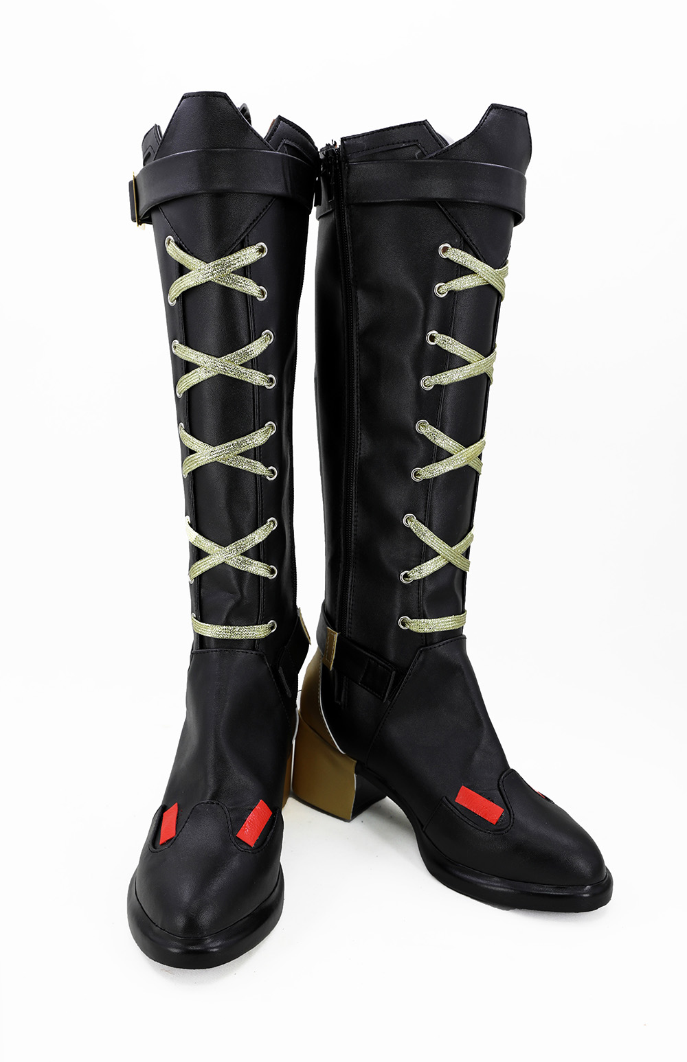 Allten Womens Gen Cammie MacCloud Ankle Boots Shoes Cosplay Costume