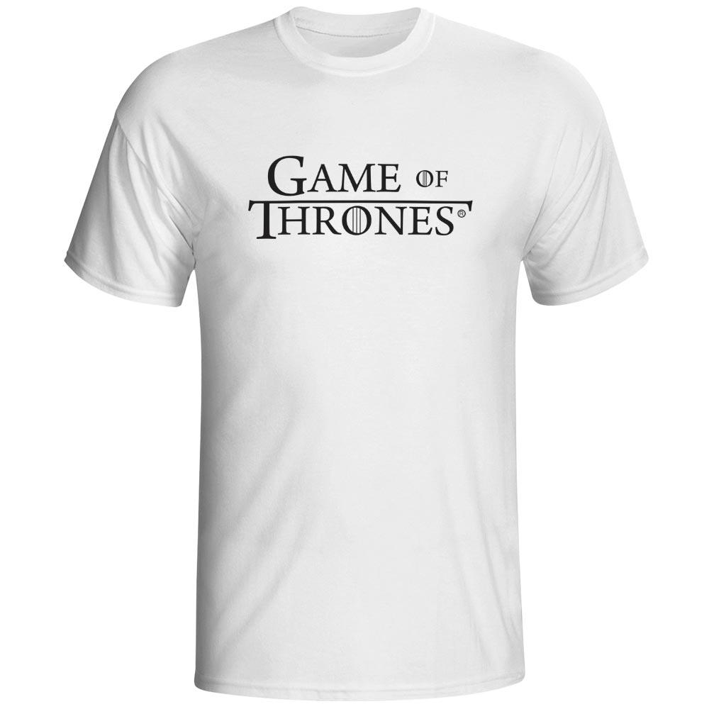 f5333a8c9 HBO Game of Thrones Logo Design T Shirt Funny T-Shirts Fashion T-shirt