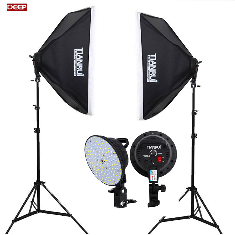 Estudio fotográfico 28w LED Softbox set studioset Studio lámpara lámpara Studio con trípode