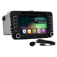 Android 5 1 2 Din 7 Inch Car DVD Player For VW GOLF 5 6 POLO