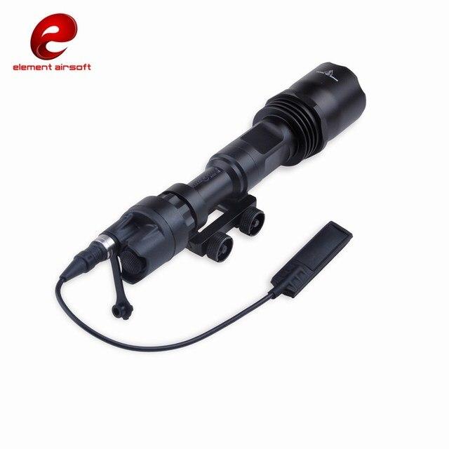 Eleman Airsoft Işık Silah işık Sürüm Süper Parlak Tüfek el feneri uzaktan kumandalı anahtar M961 EX109