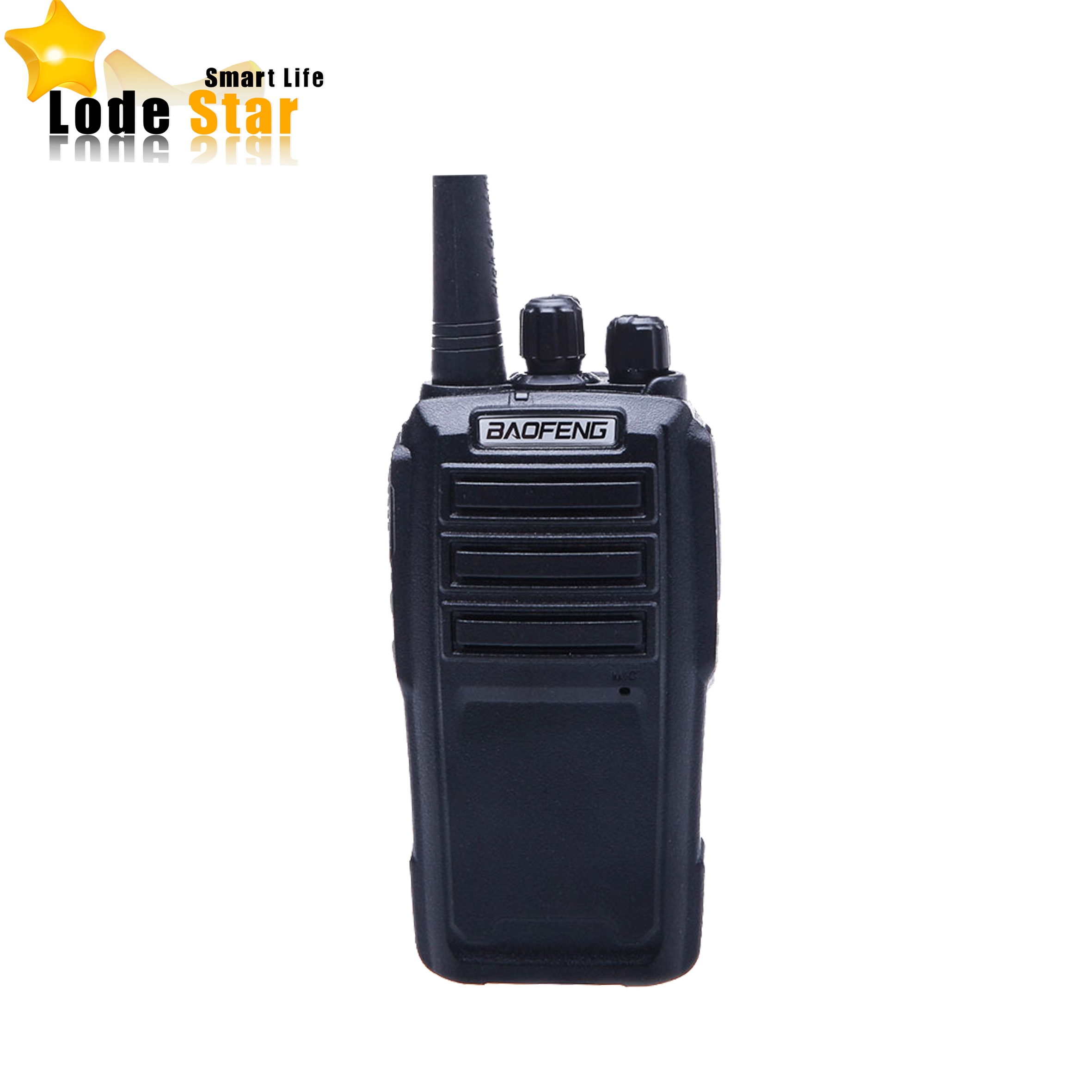 BaoFeng UV-6 Radio bidirectionnelle BF-UV6 Portable double bande VHF UHF 136-174/400-470 MHz 5 W VOX talkie-walkie professionnel Radio FM CB