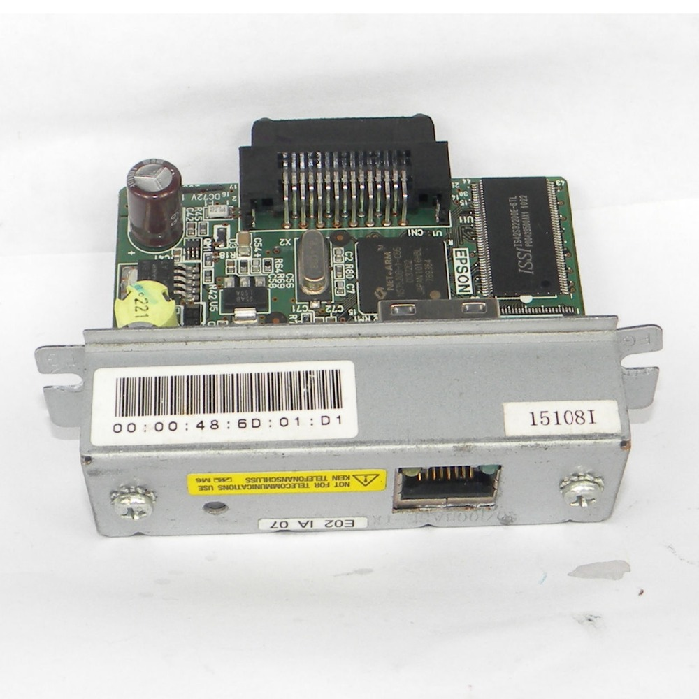 Receipt POS Printer network RJ-45 Adapter M155B UB-E02 for EPSON T88IV M129H корзинки migura корзина для хранения