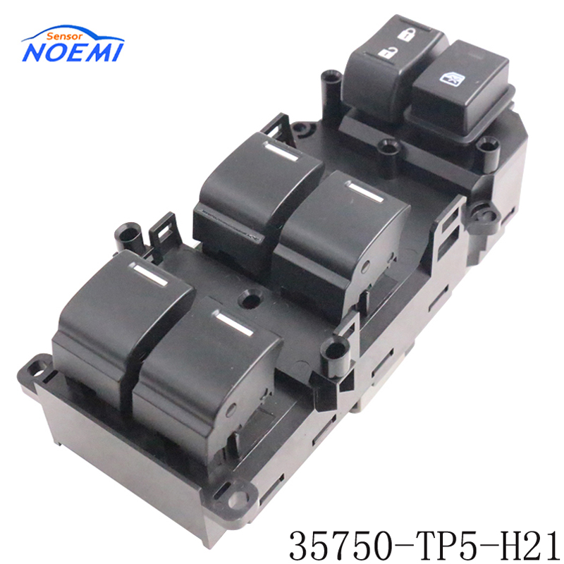 YAOPEI New OEM 35750-TP5-H21 35750TP5H21 For 09-12 SPIRIOR Europe Front Left Power Window Control Switch new oem 2pcs front left